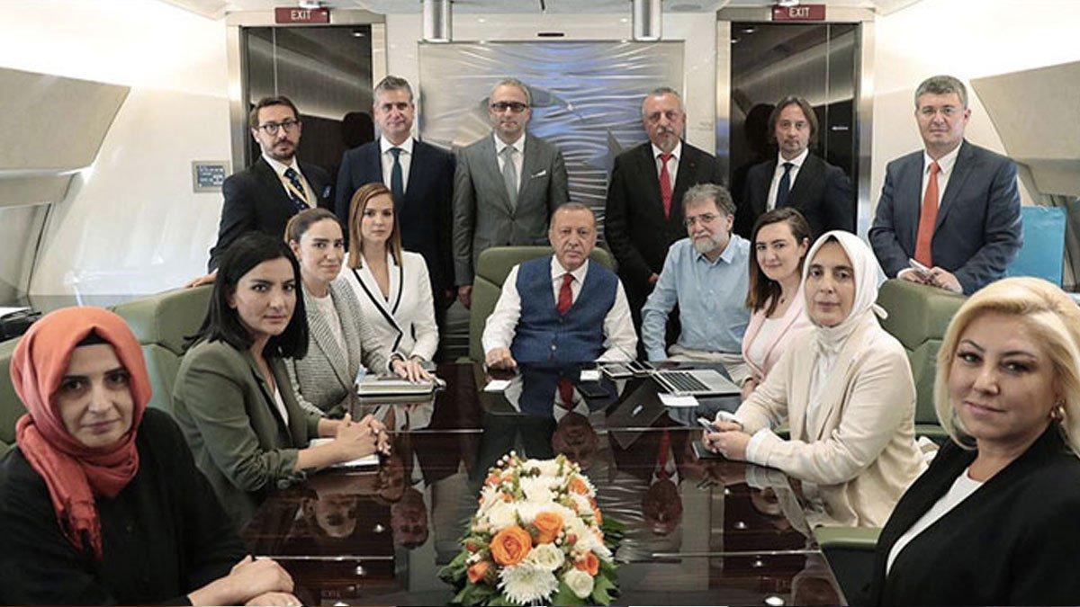 Erdoğan'ın uçağına binmişti! Ahmet Hakan'a yeni görev mi geliyor?