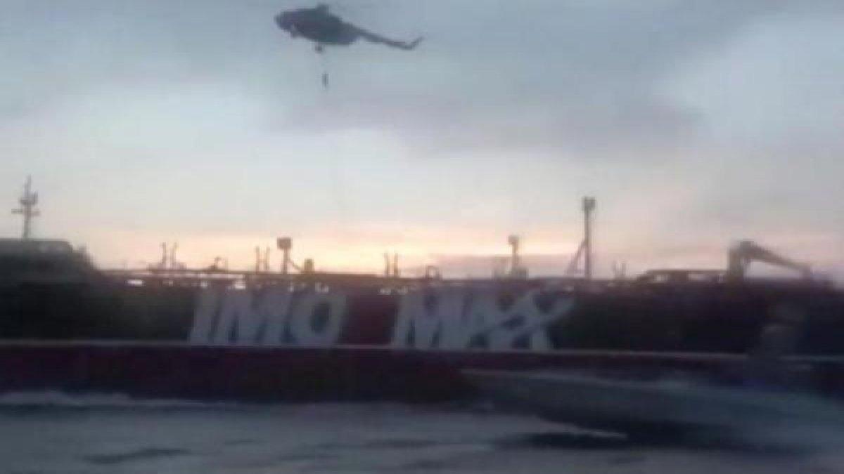 """İran-İngiltere karşı karşıya geldi! Hürmüz'de """"tanker"""" krizi!"""