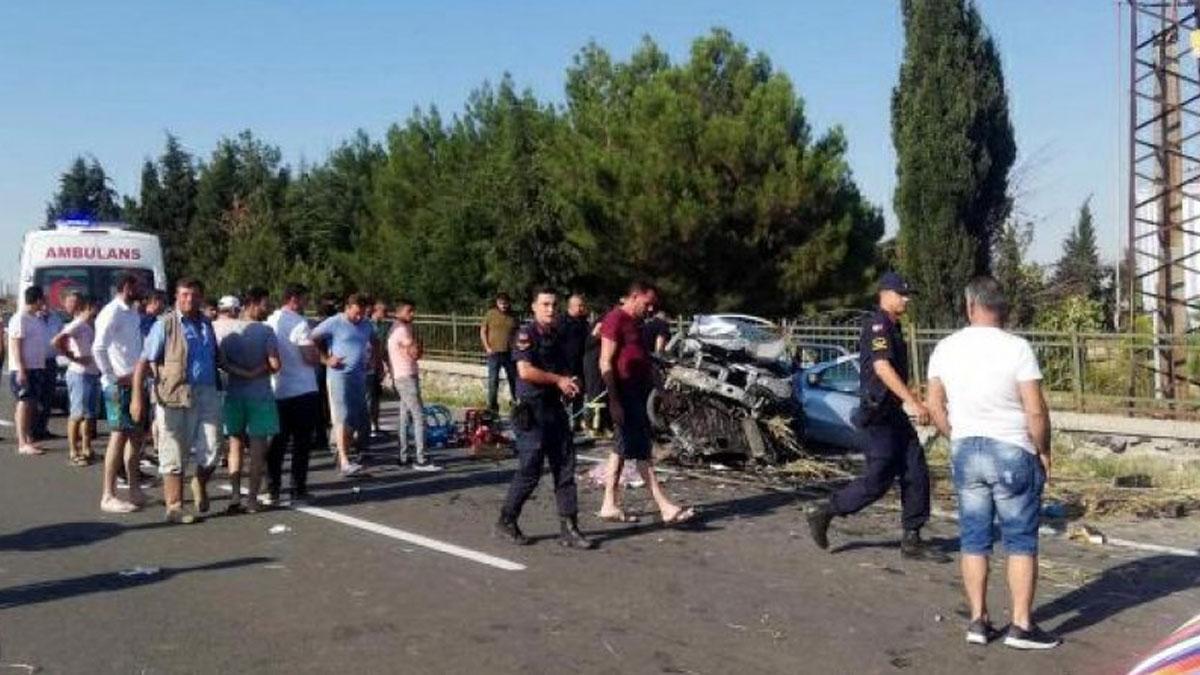 Edirne'de feci kaza: 1'i bebek 4 kişi yaşamını yitirdi