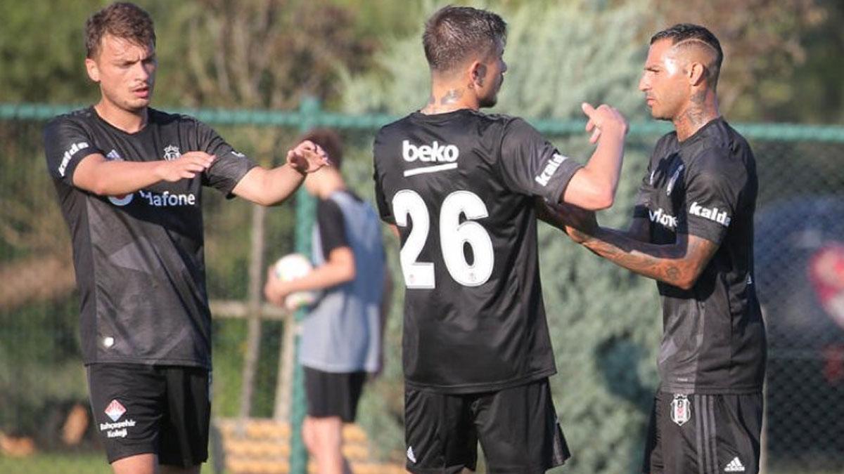 Beşiktaş hazırlık maçında Kocaelispor'u farklı yendi