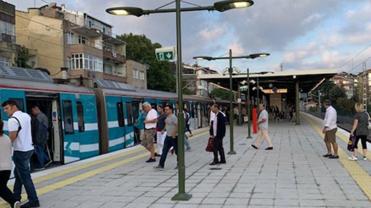 """""""İstasyonu acil boşaltın"""" Marmaray'da arıza!"""