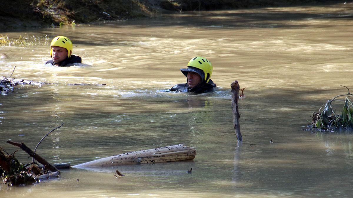 Düzce'deki sel felaketinde kaybolan bir çocuğun cansız bedeni bulundu