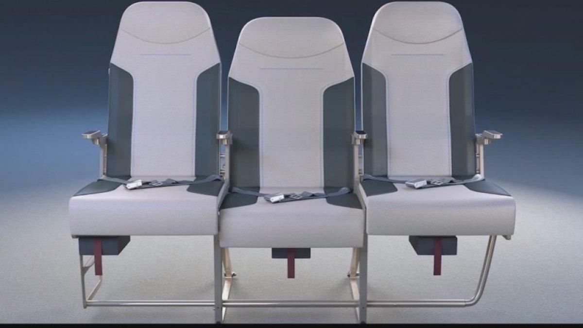 Uçak koltukları değişiyor! Orta koltukta oturanlar artık...
