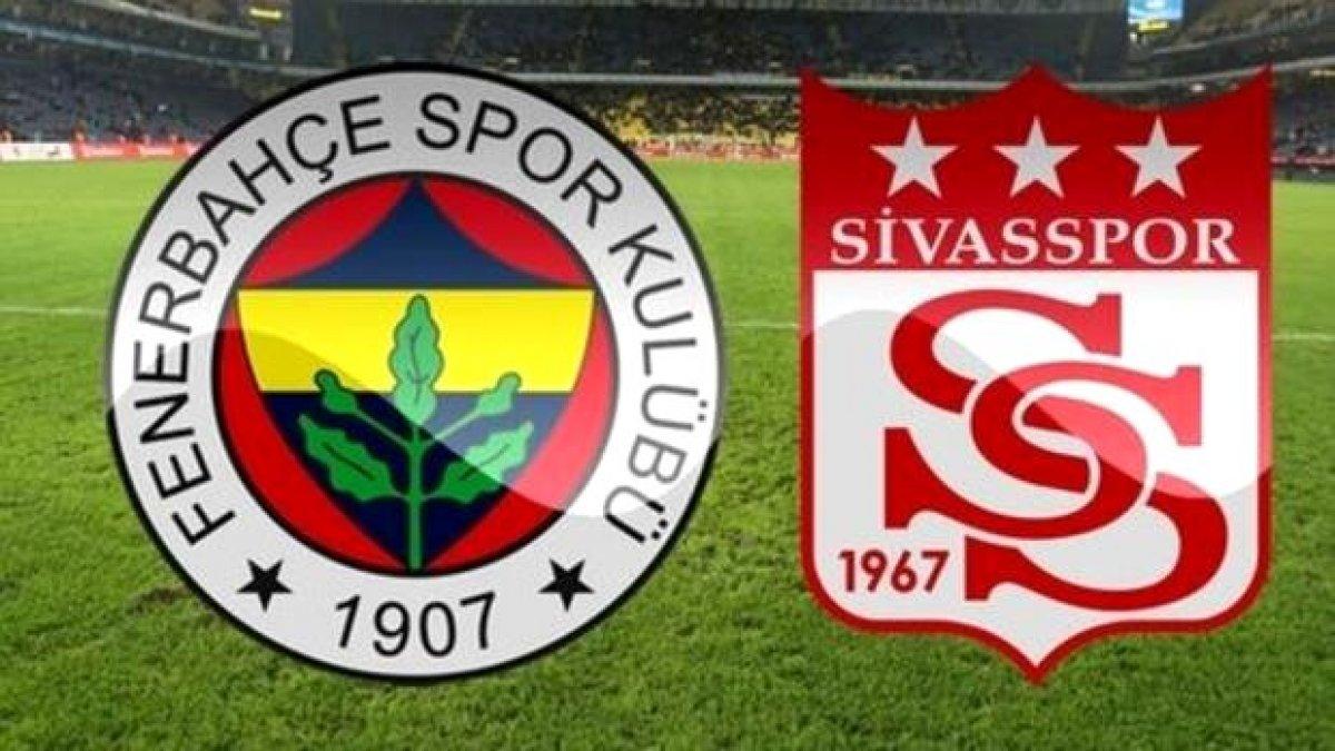 Sivasspor ile Fenerbahçe arasında oynanacak Cumhuriyet Kupası maçı 1 saat ertelendi