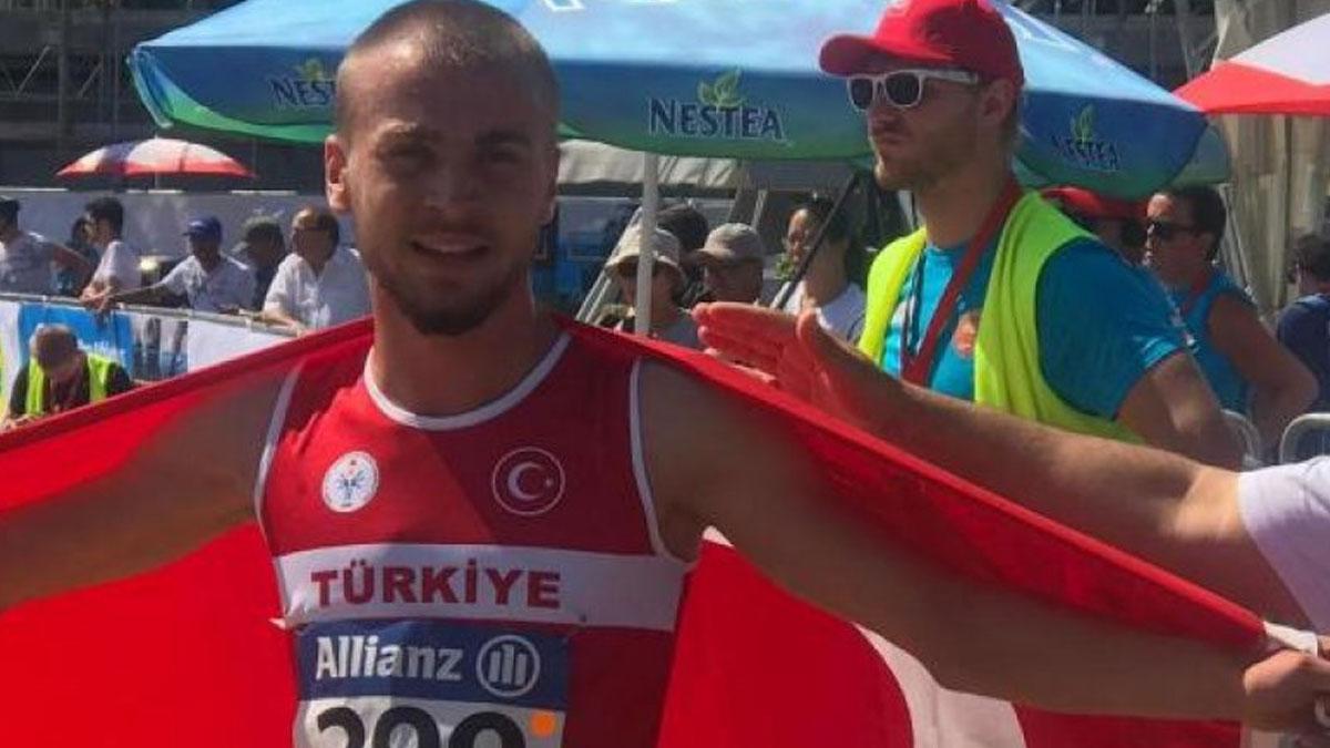Özel sporcu Oğuz Türker dünya şampiyonu