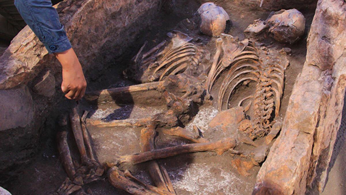 Eskişehir'de 5 bin yıllık iskelet bulundu