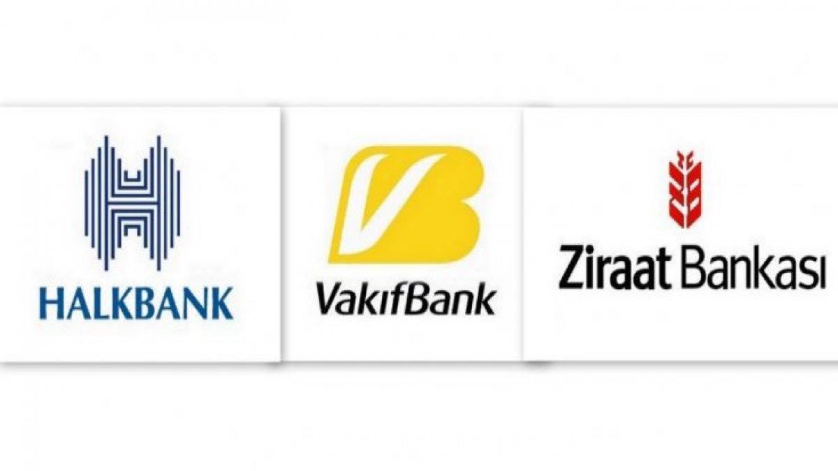 Üç kamu bankasından ortak açıklama!