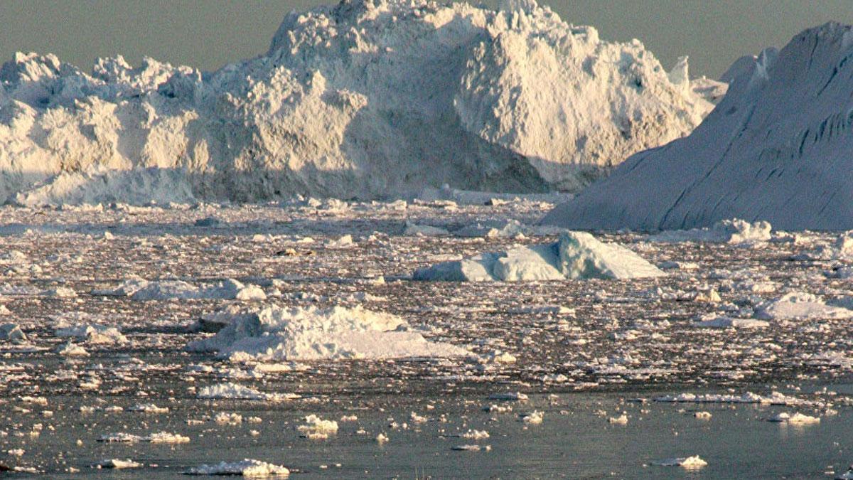 Isı rekor seviyede:Grönland eriyor