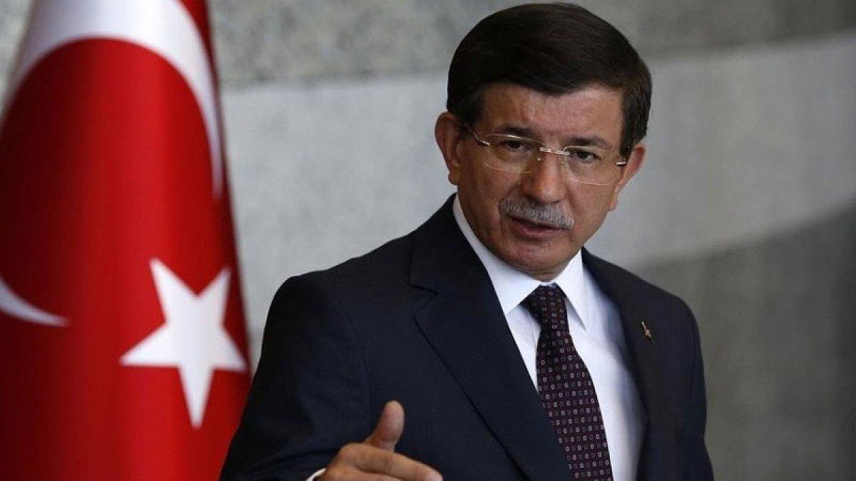 """Davutoğlu isyan etti! """"Kaz Dağları bir insanlık meselesidir"""""""