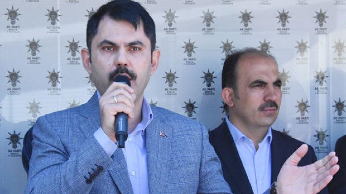 """Çevre Bakanı'ndan Davutoğlu'na """"Konya"""" göndermesi..."""