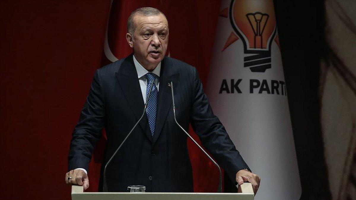 """Erdoğan'dan """"Davutoğlu ve Babacan"""" göndermeli bayram mesajı! Kardeşliğimizi böldürtmeyeceğiz"""