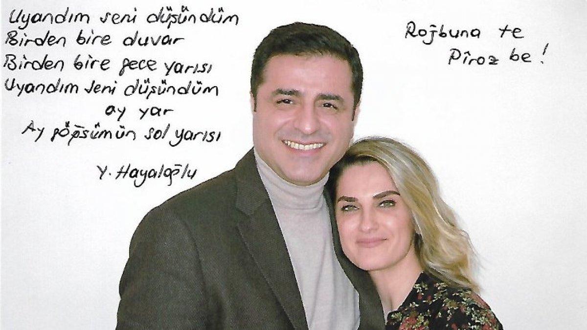 Demirtaş'tan eşine doğum günü mesajı!