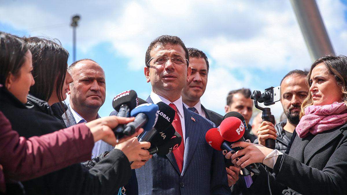 İmamoğlu:İstanbullu Beyoğlu'ndaki değişimi bir yıl sonra hissedecek