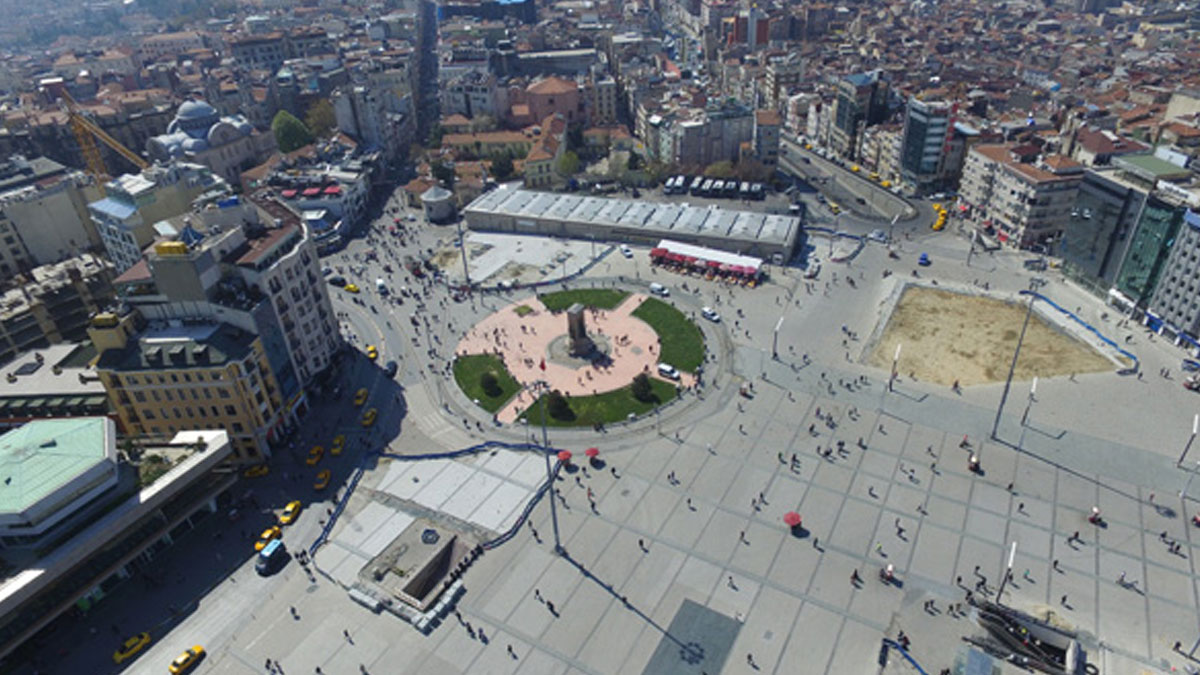 Taksim Meydanı'nın düzenlenmesi ile ilgili ayrıntılar belli olmaya başladı