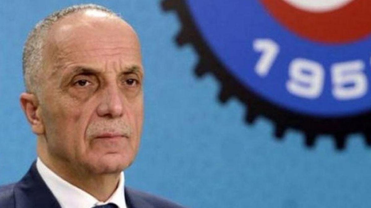 Mikrofon skandalı sonrası Türk-İş Başkanı'ndan bir açıklama daha
