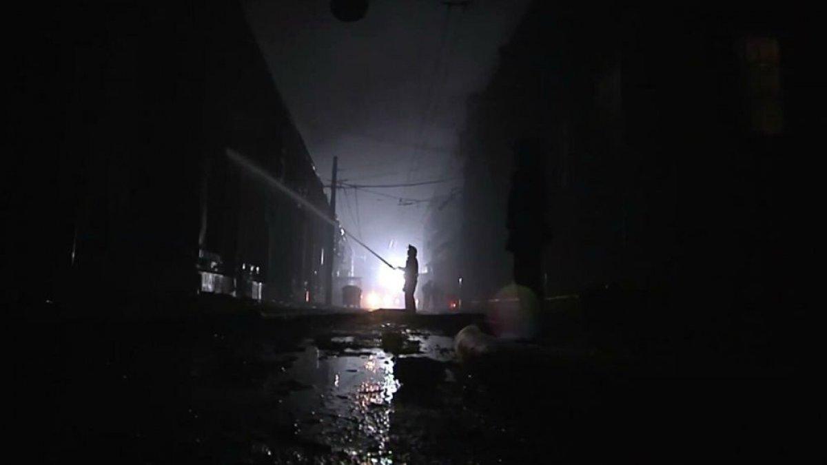 Ukrayna'da otel yangını: 9 ölü