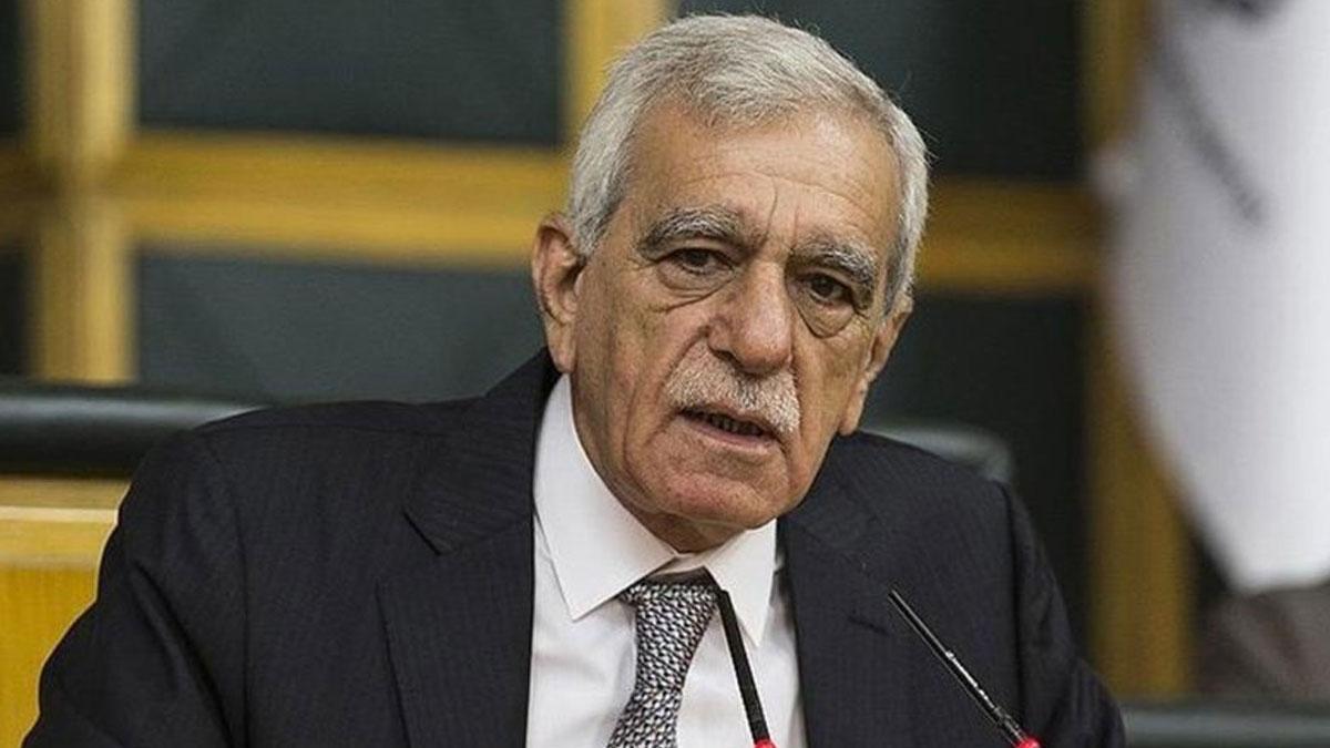 Kayyım atanarak görevinden alınan Ahmet Türk açıklama yaptı