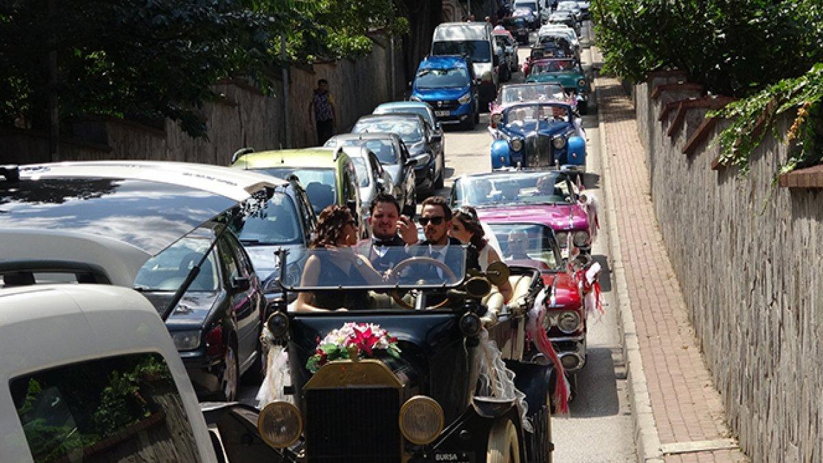 Bu konvoya paha biçilemez! 1915 model gelin arabası