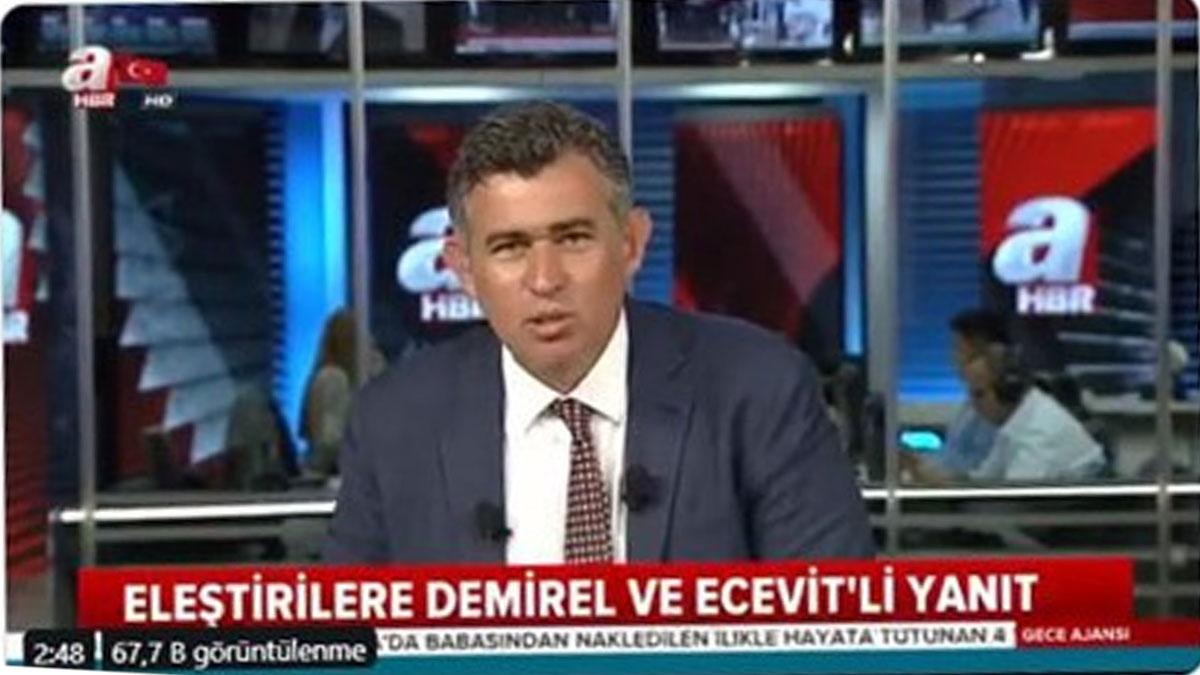 42 baronun boykot ettiği Saray törenine katılacak olan TBB Başkanı Feyzioğlu A Haber'de