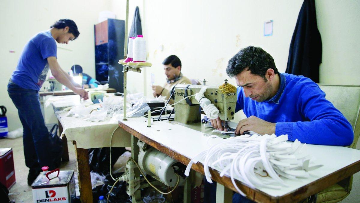 Suriyeli işçi istihdam edene 11 bin 400 lira teşvik