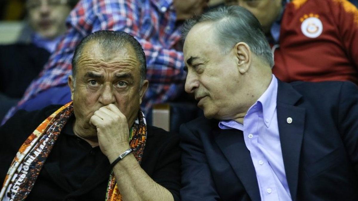 Galatasaray Başkanı Cengiz'den Fatih Terim tepkisi
