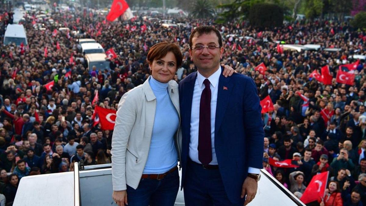 Ekrem İmamoğlu'ndan Canan Kaftancıoğlu tepkisi