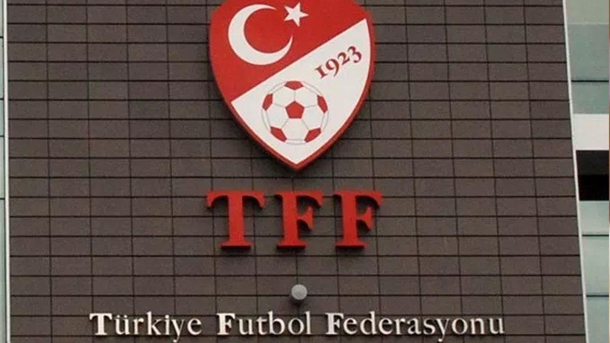 TFF'den Terim açıklaması