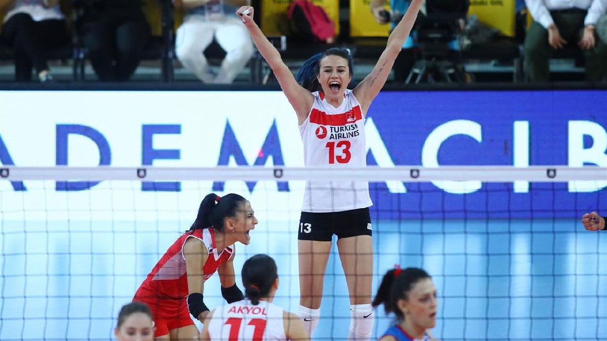 Filenin Sultanları Sırbistan'a 3-2 kaybederek Avrupa ikincisi oldu