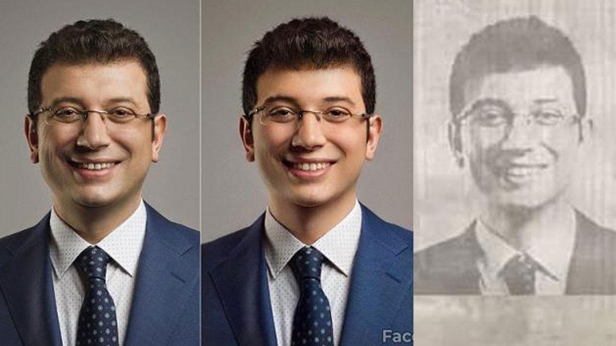 İmamoğlu'nu FaceApp ile gençleştirip sahte belge düzenlediler