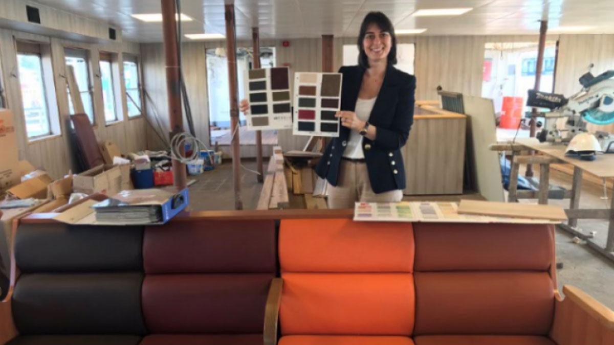 İBB, İstanbullulara sordu: Vapurlardaki koltukların rengi ne olsun?