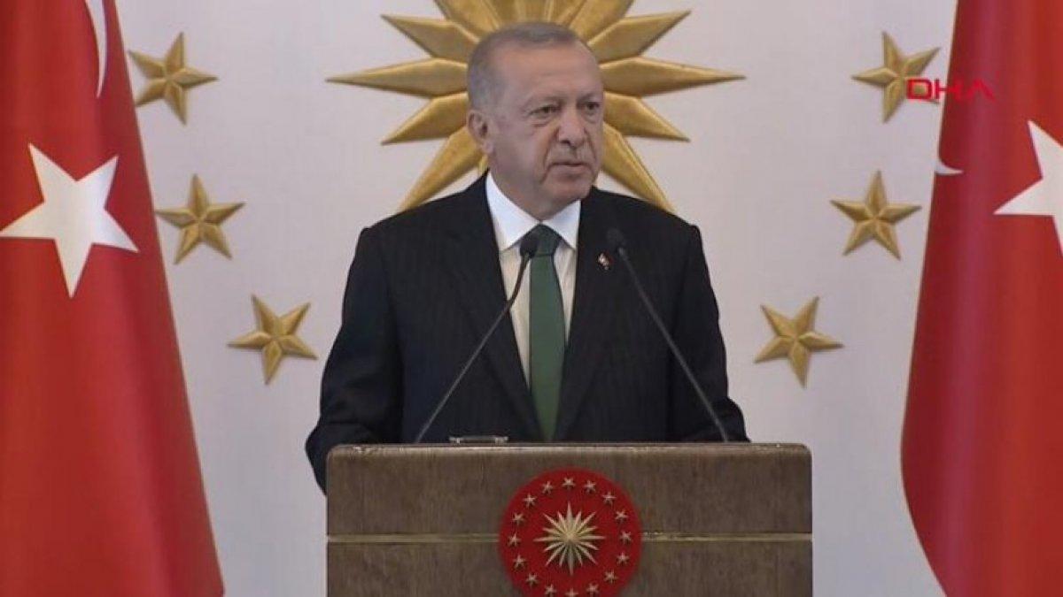 Cumhurbaşkanı Erdoğan belediye başkanları ile Beştepe'de buluştu
