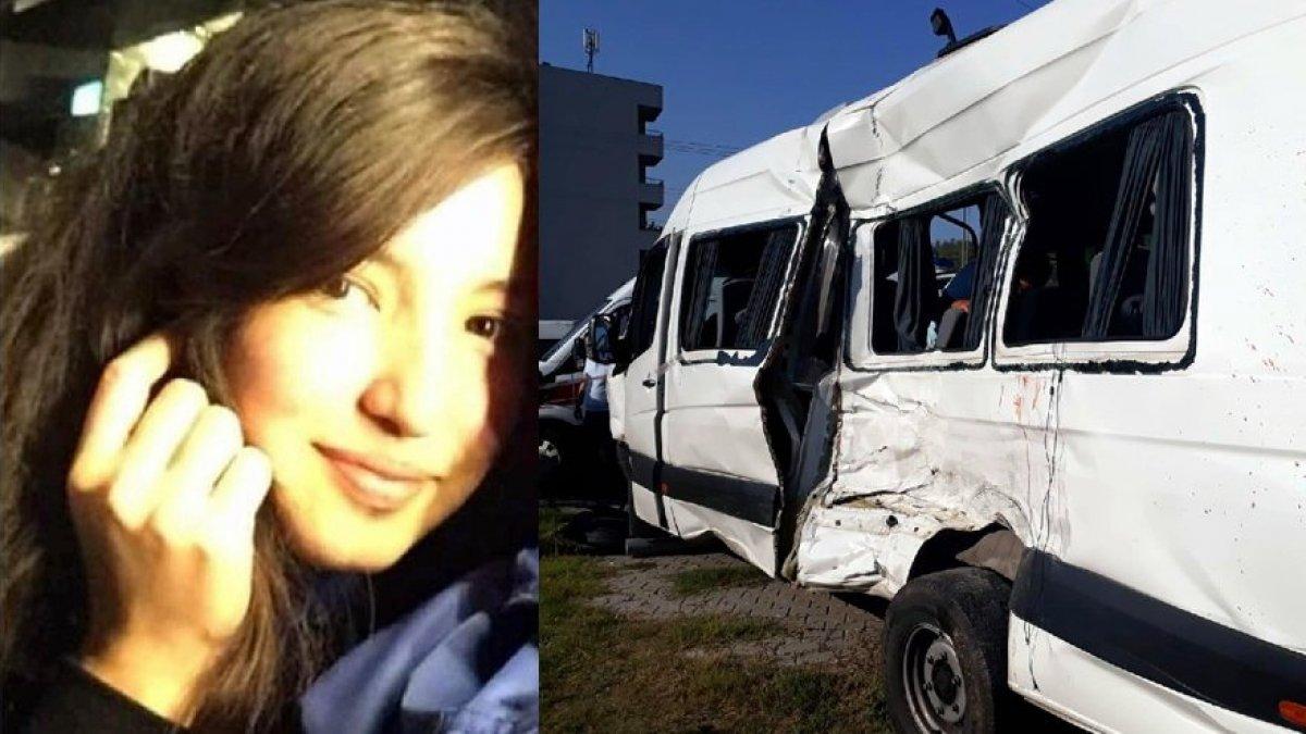 Öğrenci servisi ile kamyon çarpıştı!
