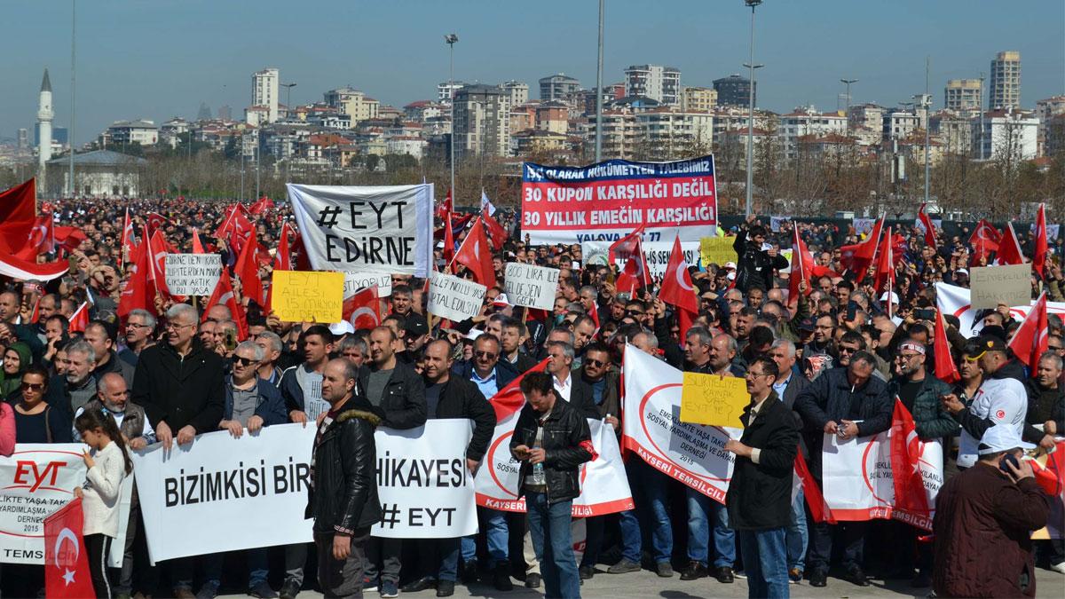 Erdoğan'dan EYT'liler için talimat