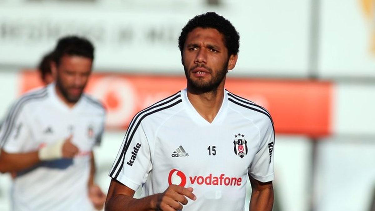 Beşiktaşlı Elneny'ye PFDK'den ceza