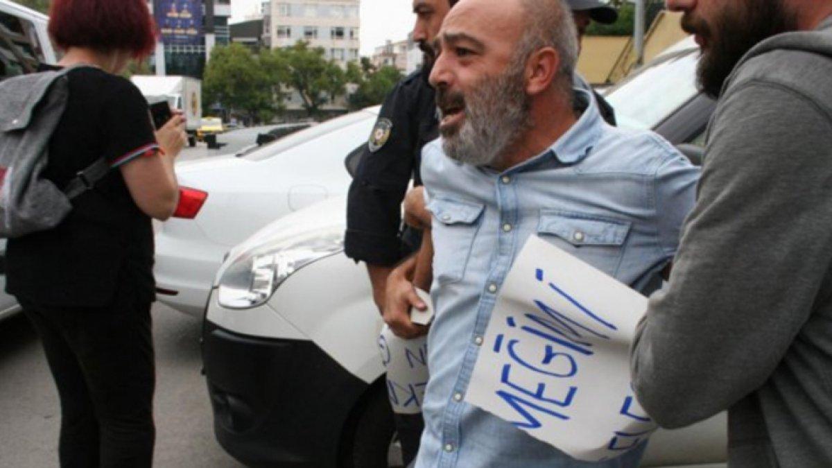 Eylem başlamadan gözaltına alındı! AKP binasına gitmesine bile izin yok...