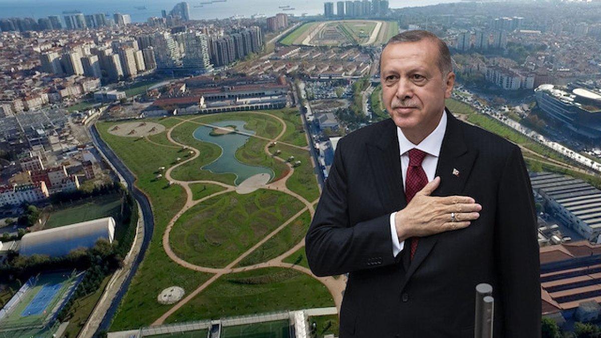 """Erdoğan'dan """"Millet bahçesi"""" yorumu! Betonlaşmaya karşı bir çıkış"""