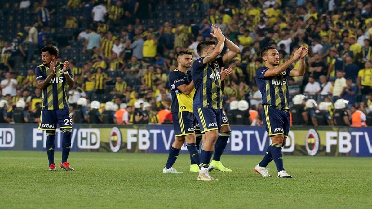 Fenerbahçe sahadan galip ayrıldı!