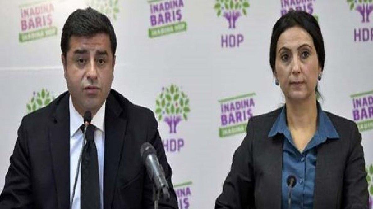 Başsavcılıktan Demirtaş ve Yüksekdağ hakkındaki tutuklama kararı için açıklama