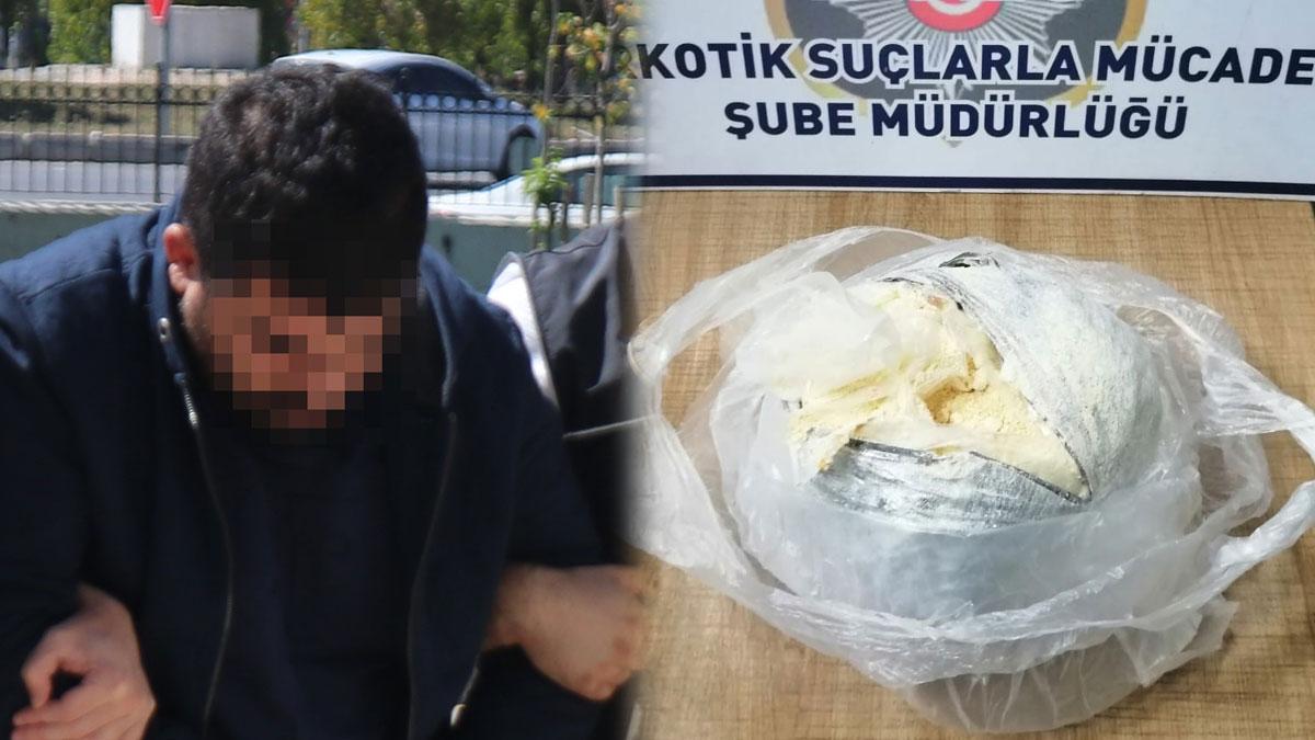 Uyuşturucu operasyonunda 1 kilo 32 gram bonzai ham maddesi ele geçirildi