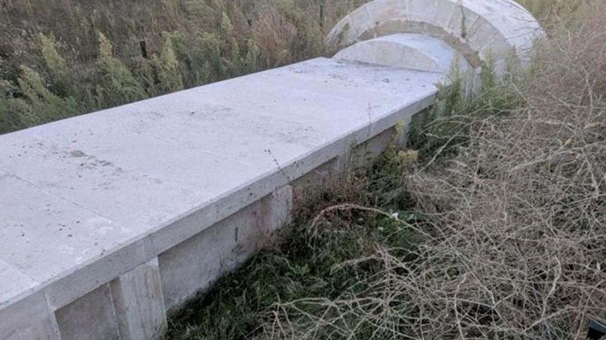 Yine bir tarih katliamı: 2 bin 300 yıllık mezara beton döktüler
