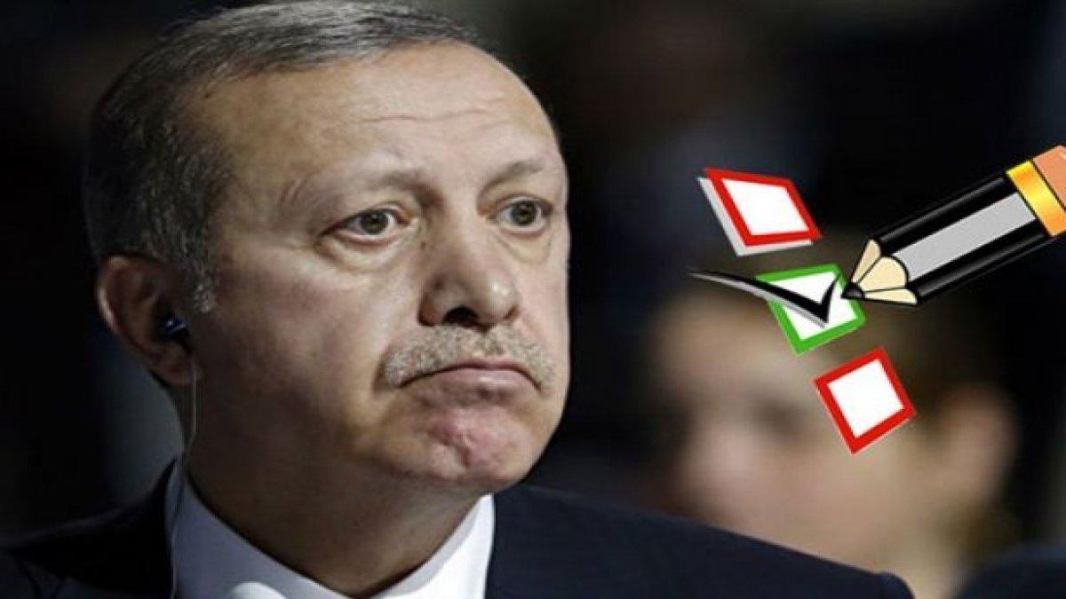 Erdoğan'a anket şoku! AKP'nin oyları eriyor...