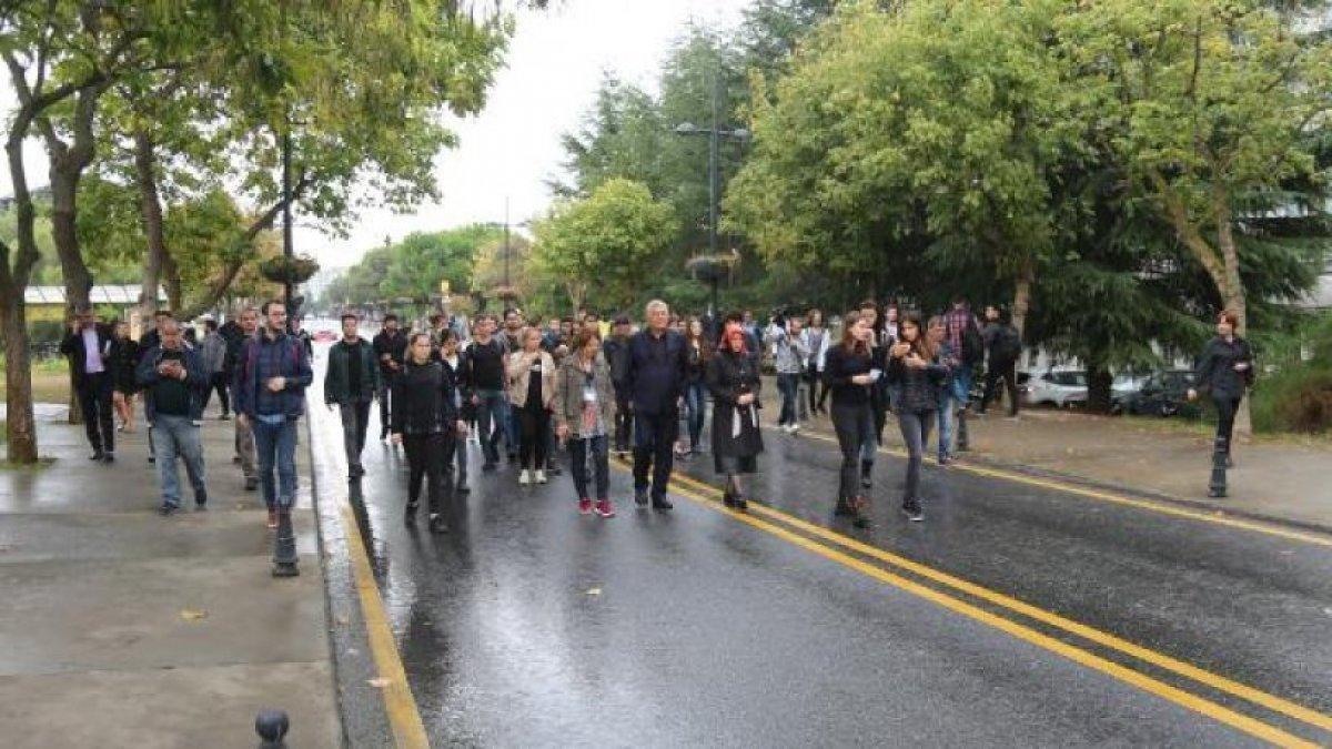 İstiklal Caddesi'nde katledilen Halit Ayar için sessiz yürüyüş