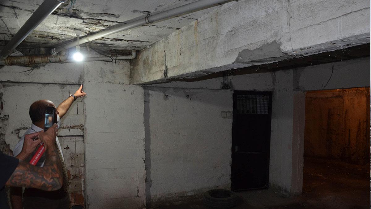 Avcılar'daki hastanelere 44 başvuru yapıldı, 2 bina mühürlendi