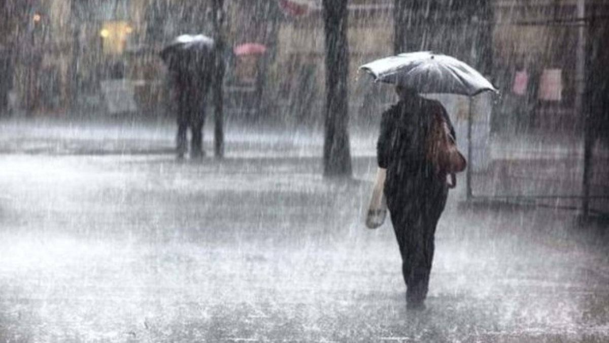 Meteorolojiden yurt genelinde birçok il için sağanak yağış uyarısı