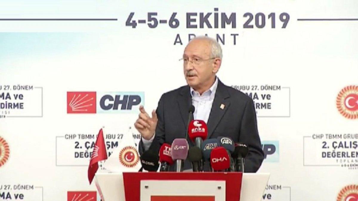 Kılıçdaroğlu: Erdoğan,BOP'un eş başkanlığını yapmaya devam ediyor