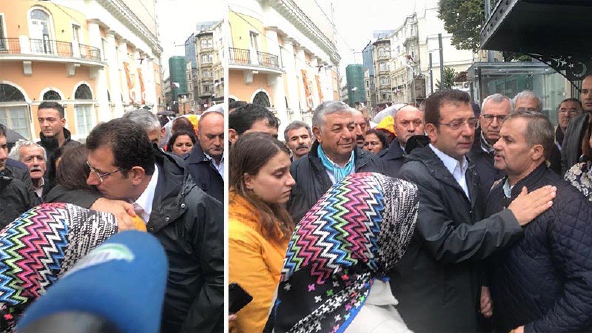 Ekrem İmamoğlu'ndan Halit Ayar'ın ailesine destek!
