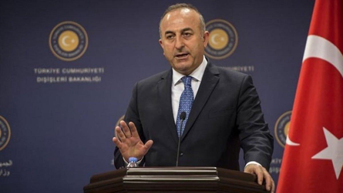 Bakan Çavuşoğlu'ndan kritik harekat açıklaması