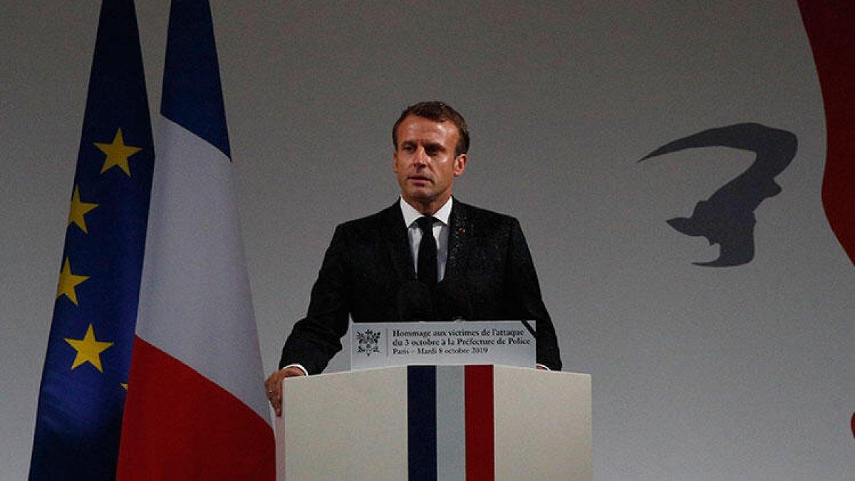 Fransa Cumhurbaşkanı Macron'dan skandal görüşme!