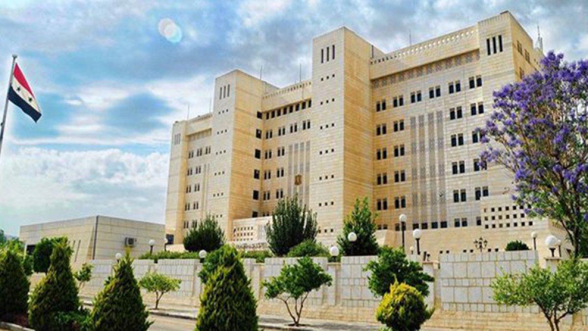 Suriye Dışişleri Bakanlığı: Türkiye'ye karşı koymakta kararlıyız