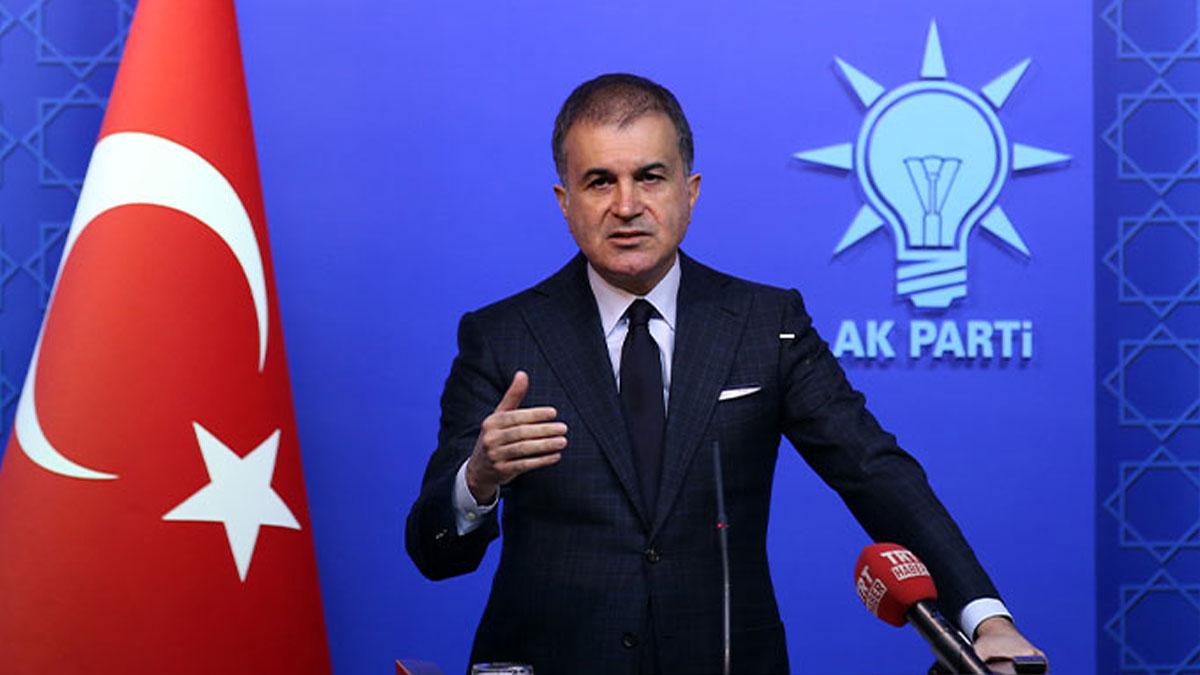 AKP Sözcüsü Çelik: Türkiye tüm dini grupların güvenliğini sağlayacaktır